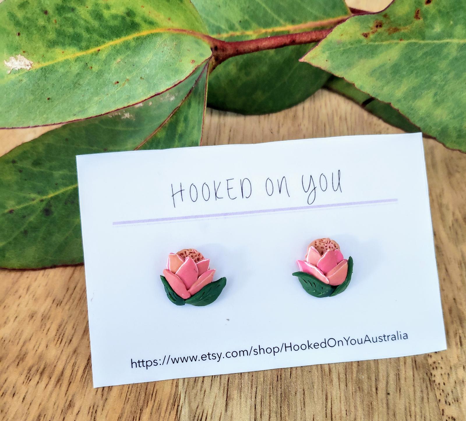 Protea Earrings
