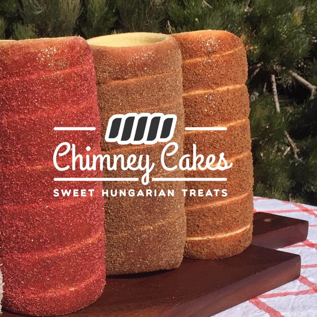 Chimney Cakes Display