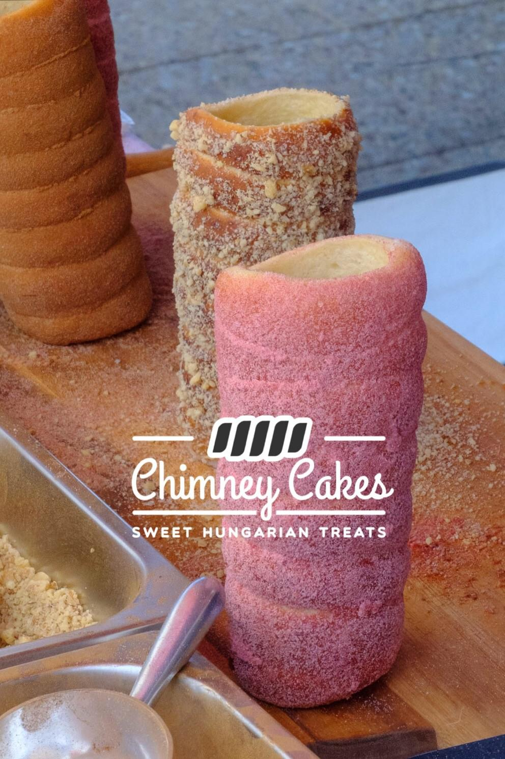 Fresh Chimney Cakes Cooling
