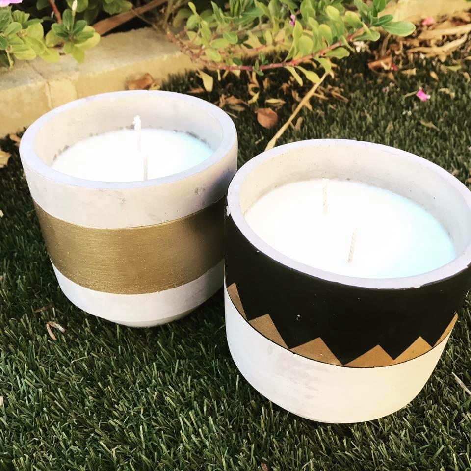 Outdoor Inspect Repellant Candles