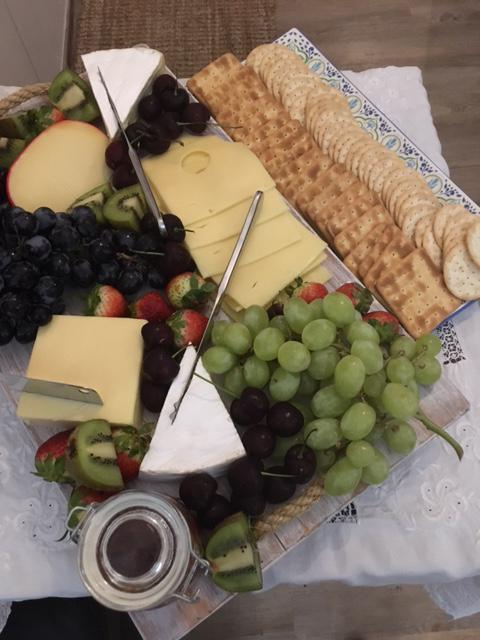 Standard Cheese Board - Yummy!