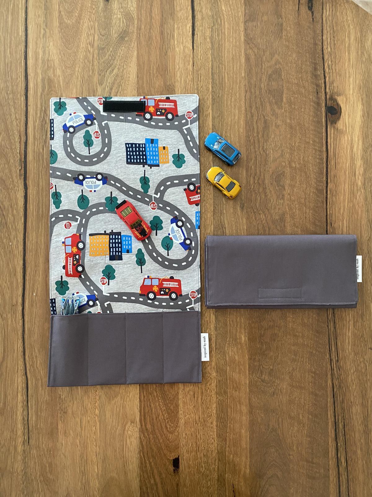 Portable Toy Car Playmat