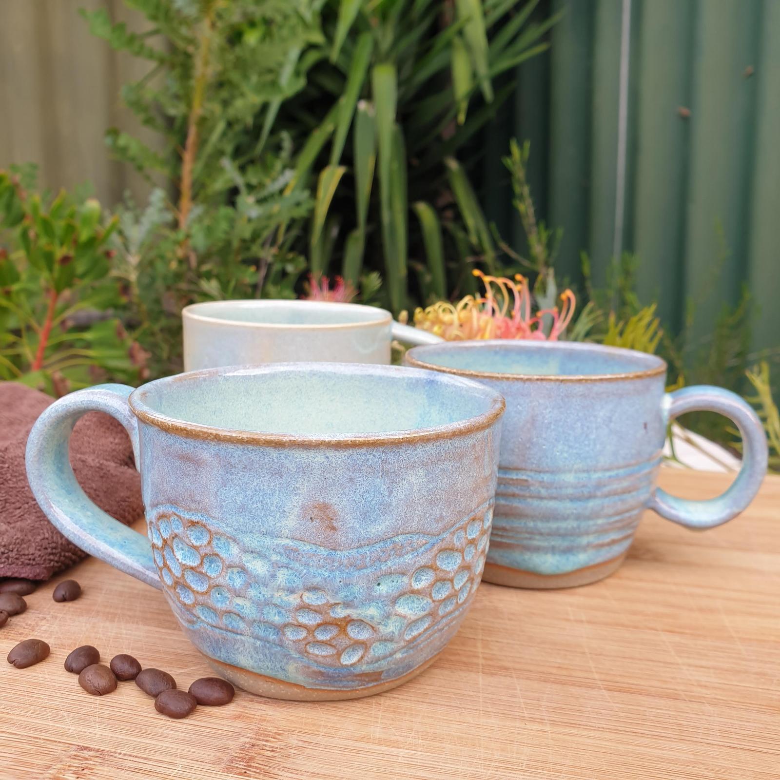 Seafoam Mugs