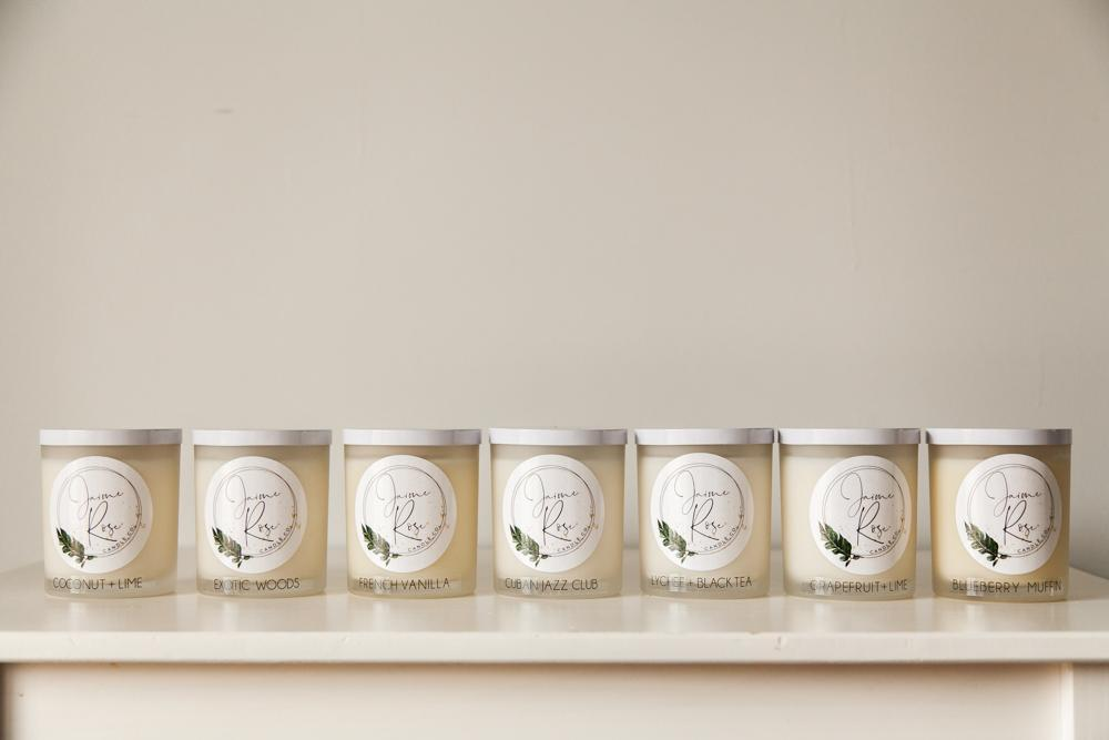 Jaime Rose Candle Co. signature collection