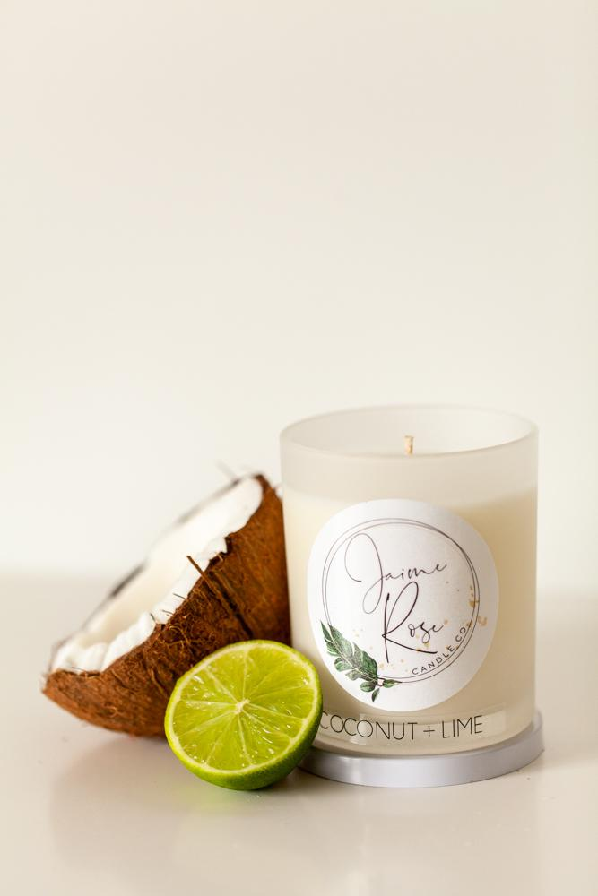 Hand poured natural soy wax candles