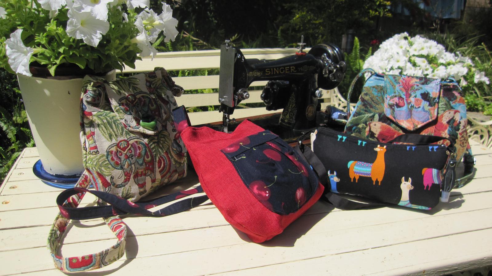 Bespoke handmade different bags