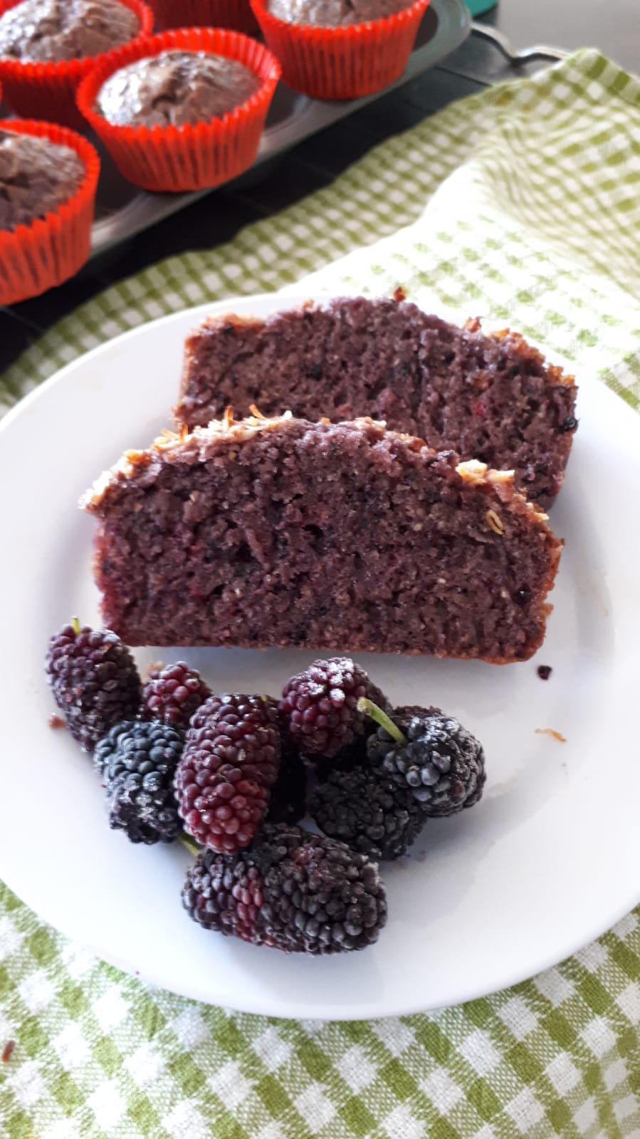 Mulberry Cake (seasonal)