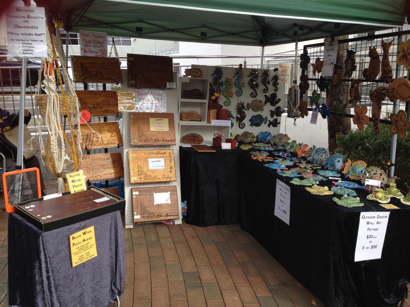 Jappel Crafty Artz Market Stall