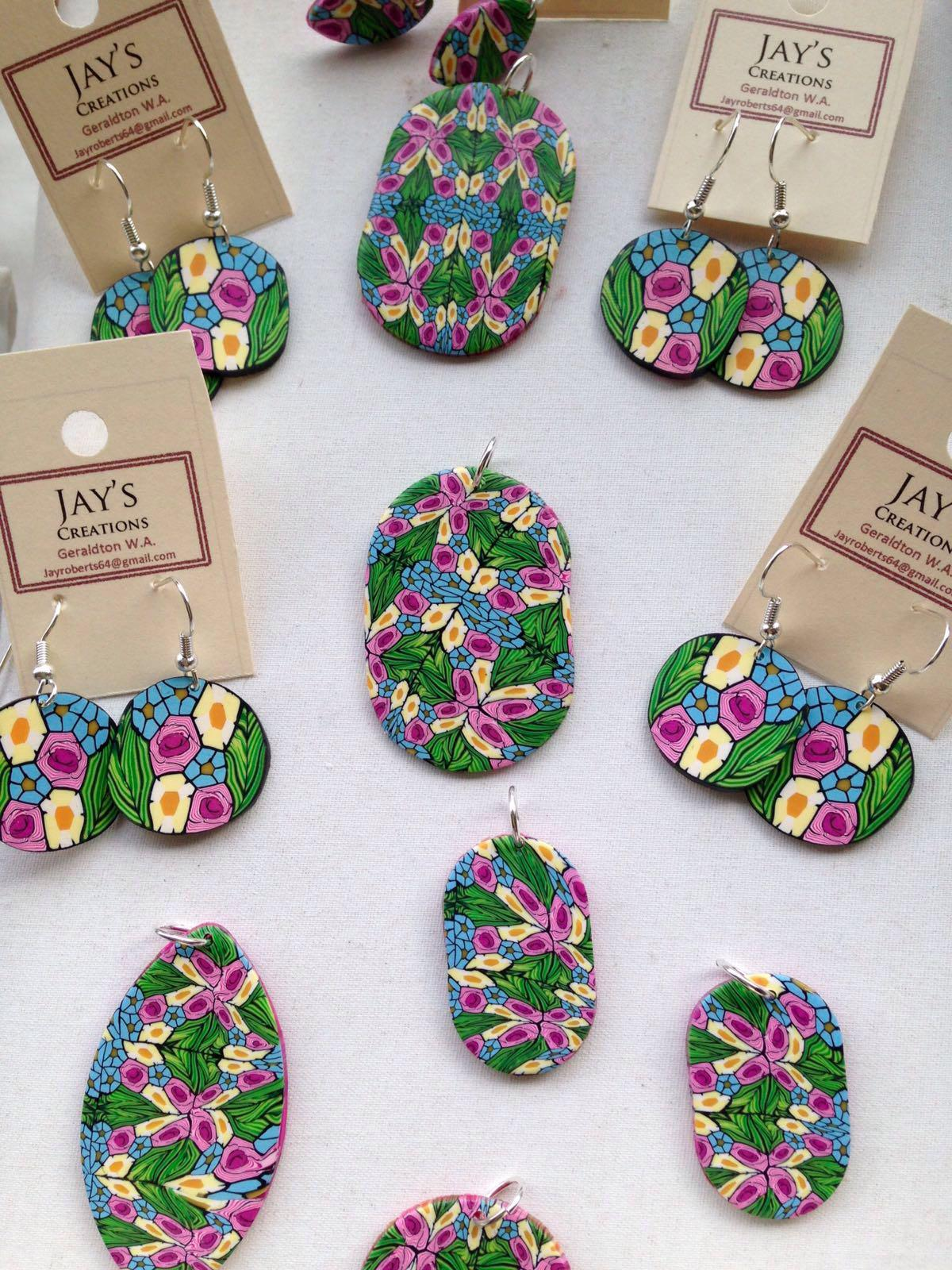 Jay's Creations polymer clay jewellery