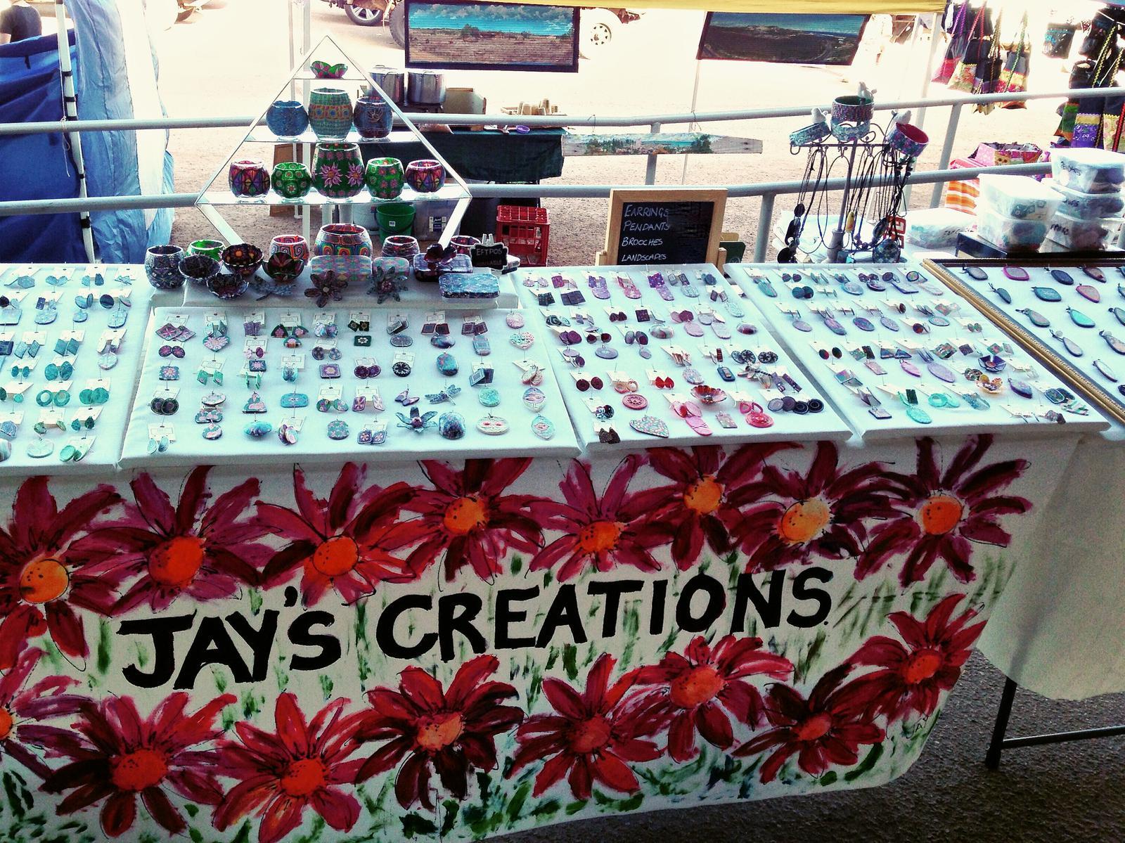 Jay's Creations handmade polymer clay jewellery