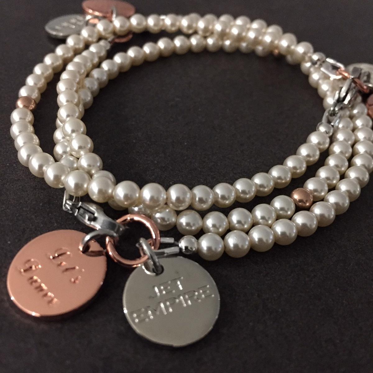 Swarovski Pearl Bracelets