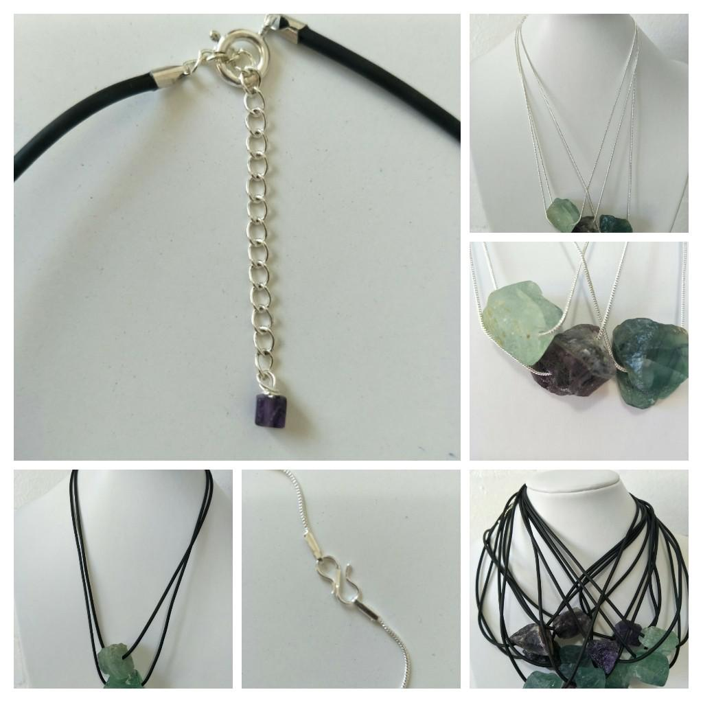 Flourite pendant's protect's you from negative energy and process mental clarity