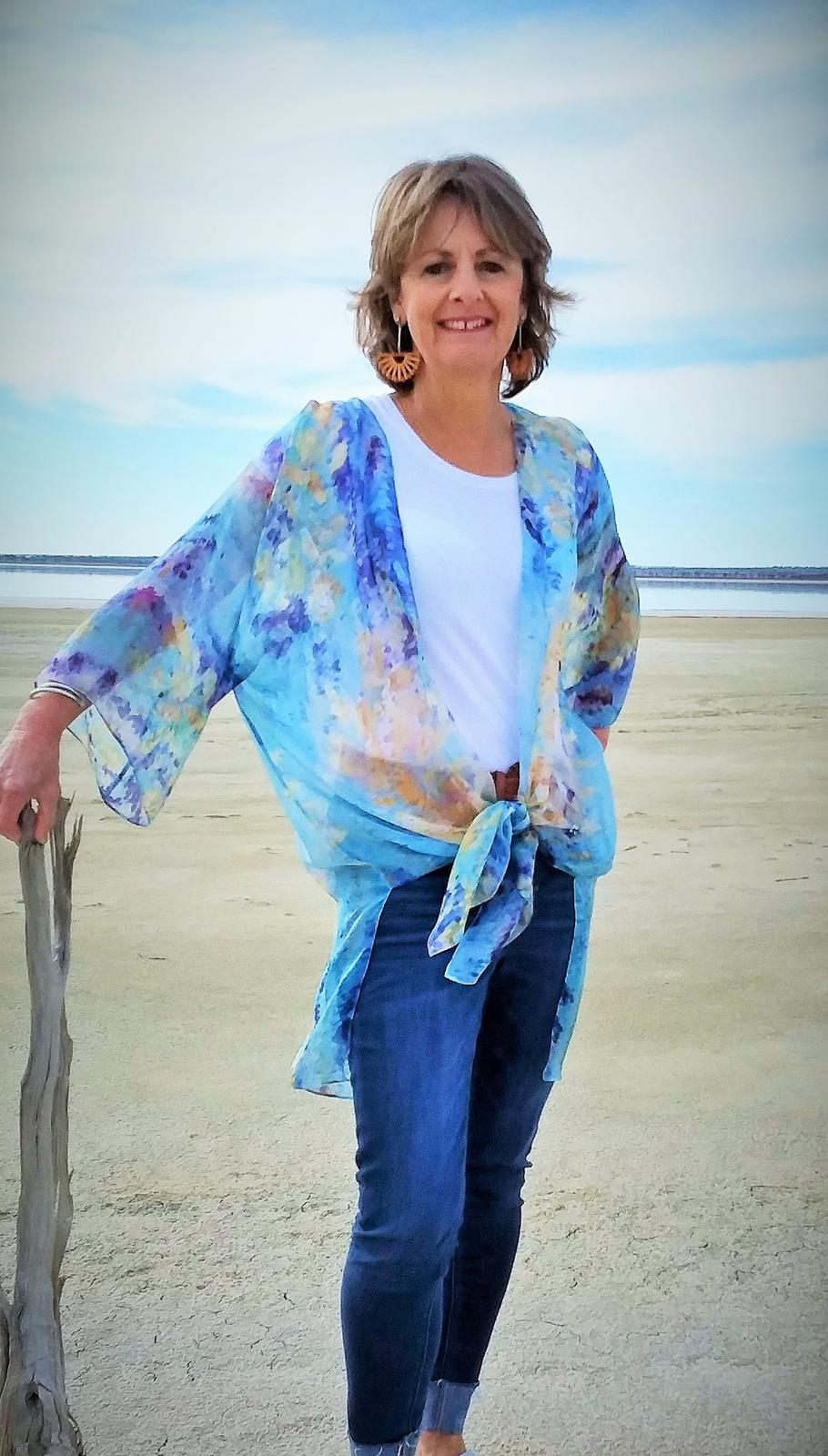 Salt Lakes Silk Kaftan
