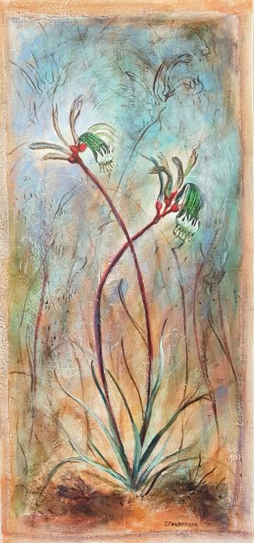 Red & Green Kangaroo Paws