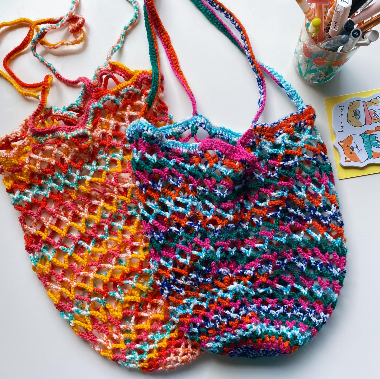 Crochet Bags by Sunnyday Yarns