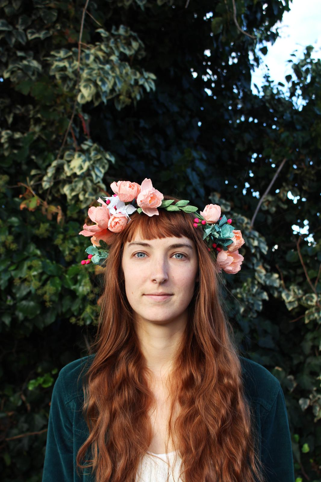 Deluxe Paper Flower Crown