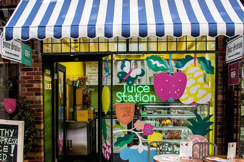 Juice Station at London Court