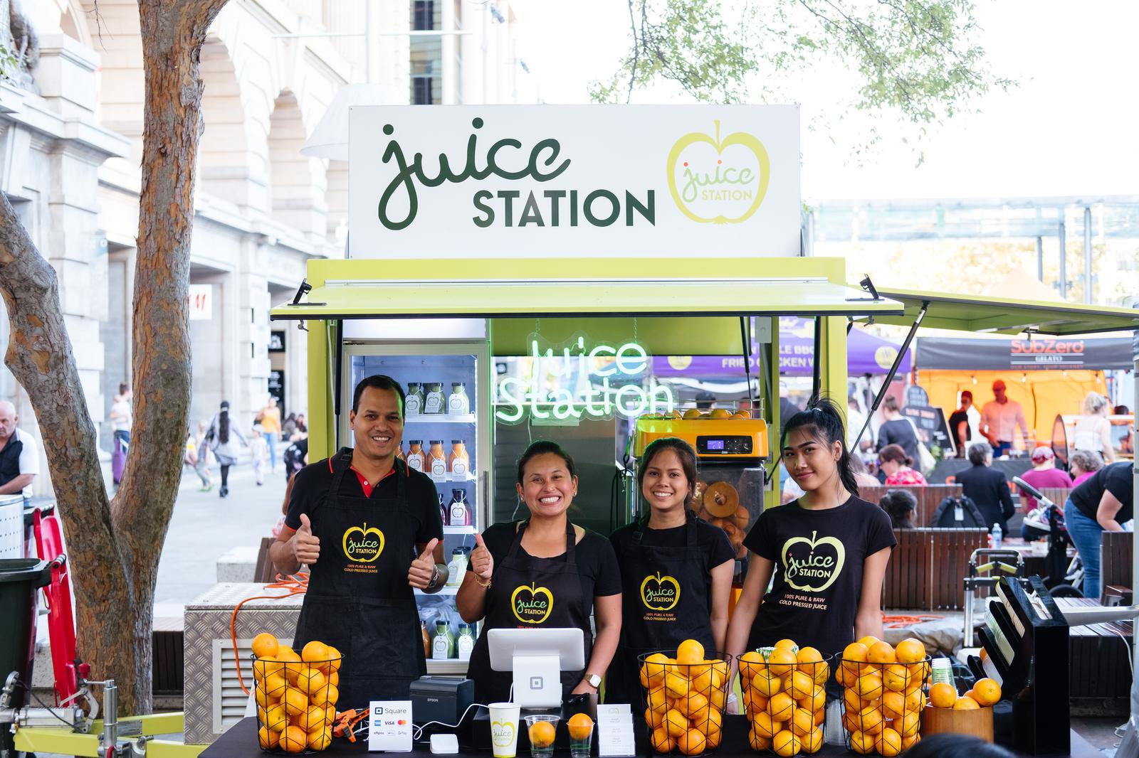 Juice Station Trailer