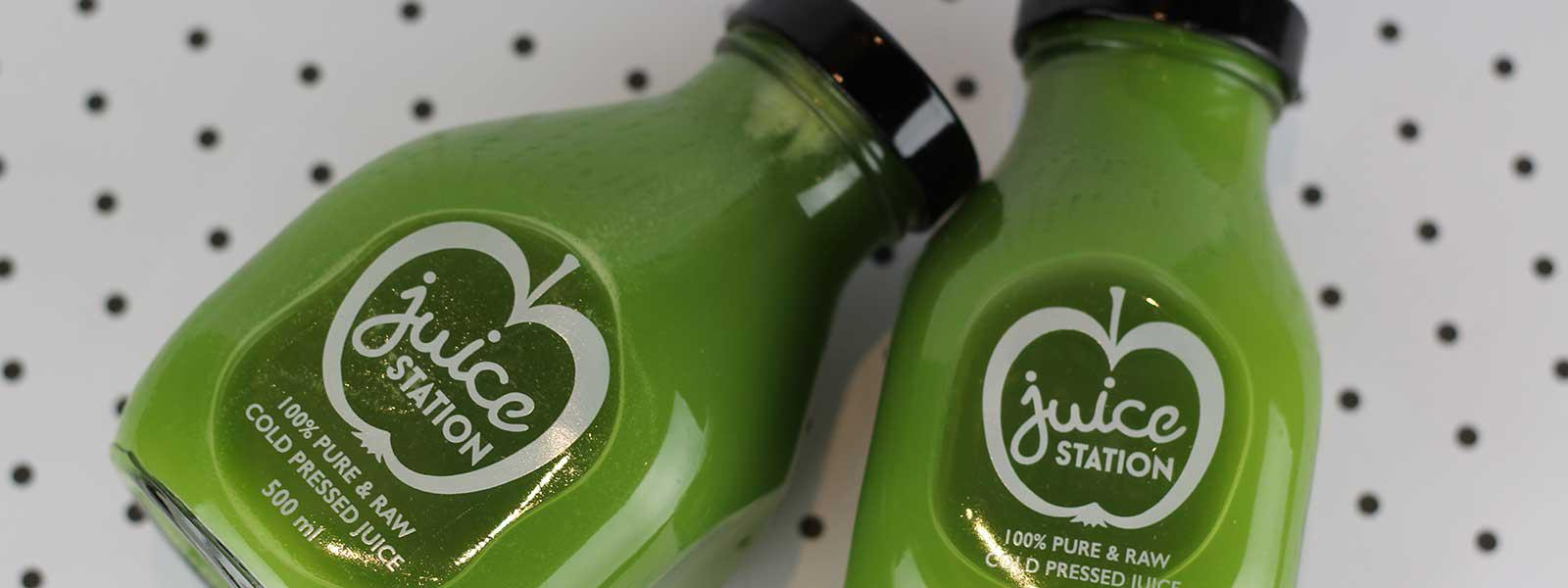 Green Detox Raw Juice by Juice Station