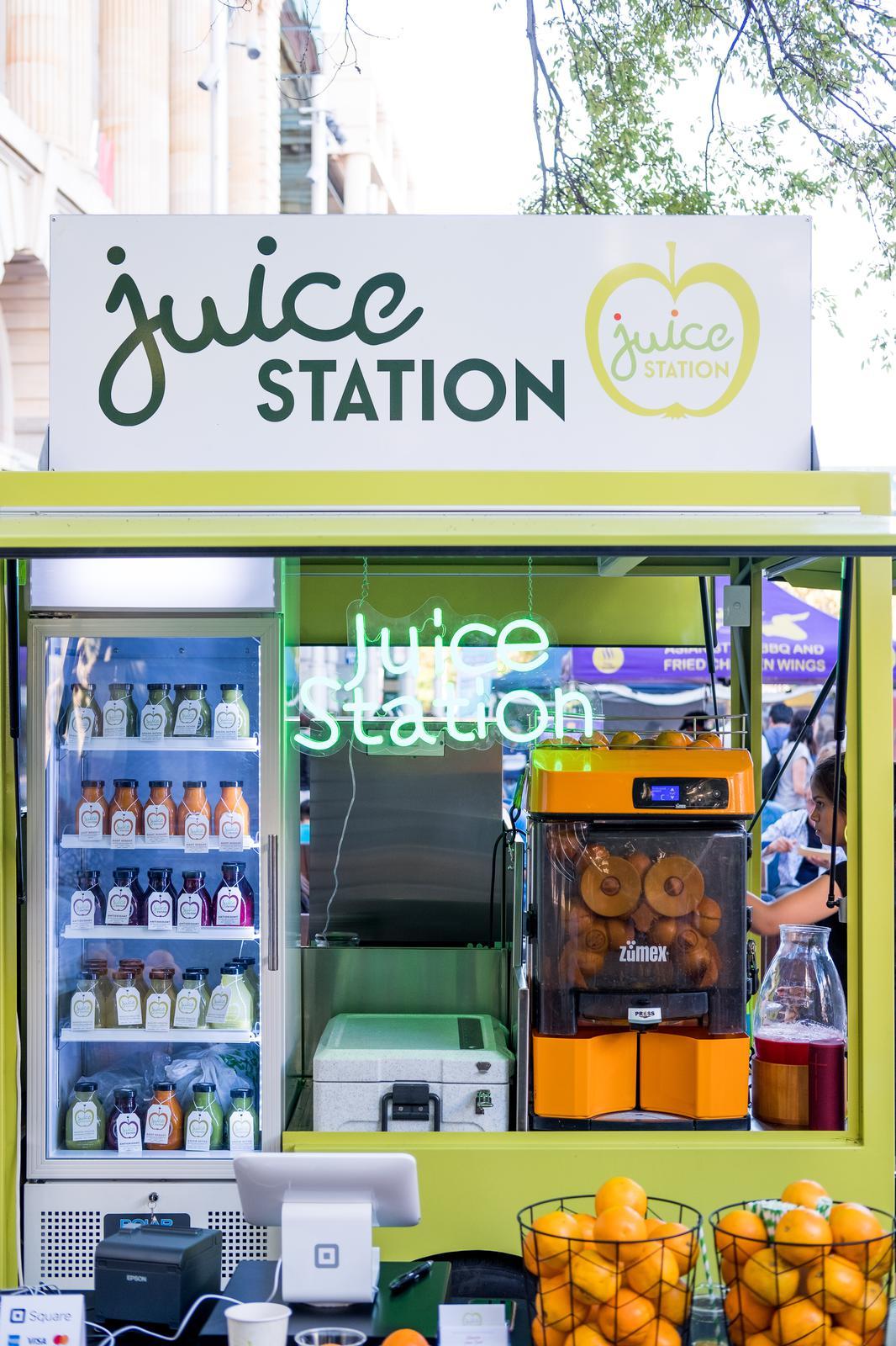 Juice Station Trailer Image