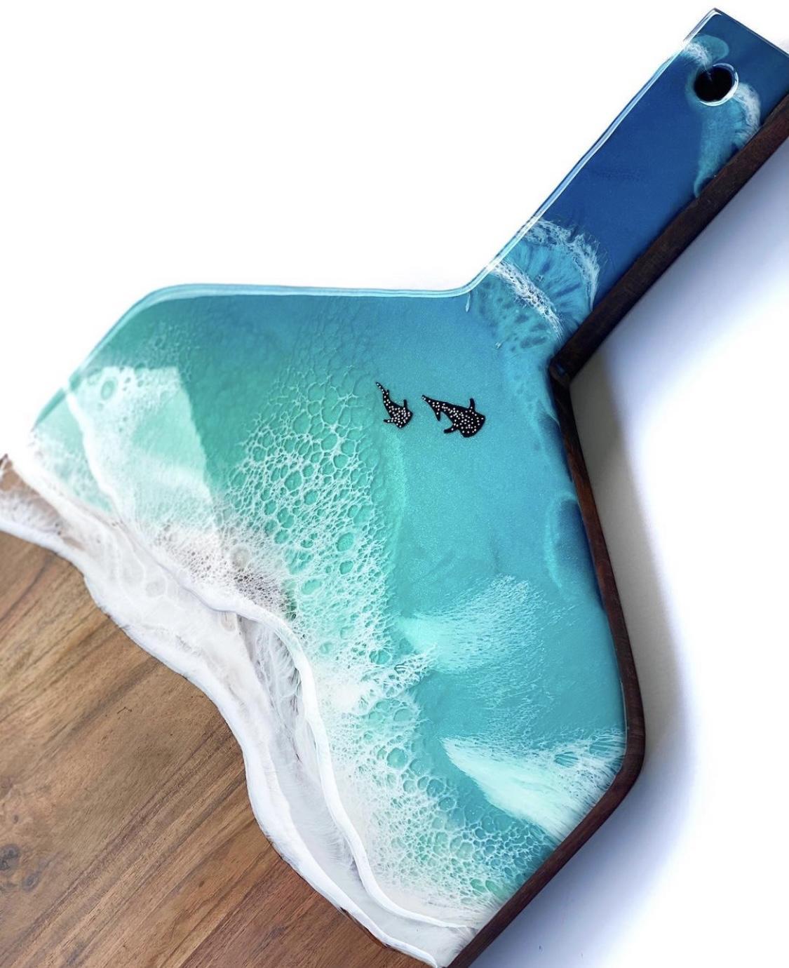 Whale Shark Serving Board