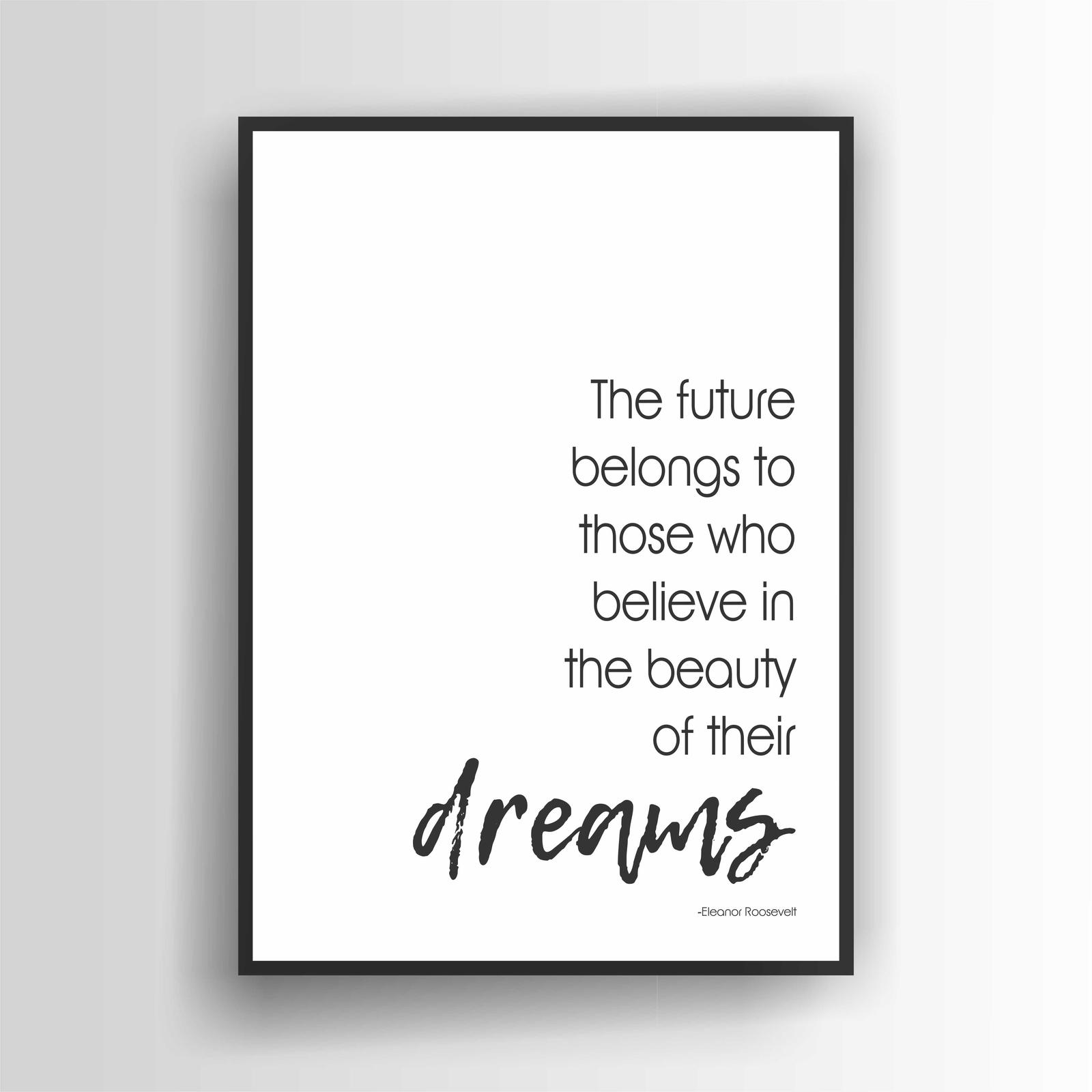 The Future Belongs...Print