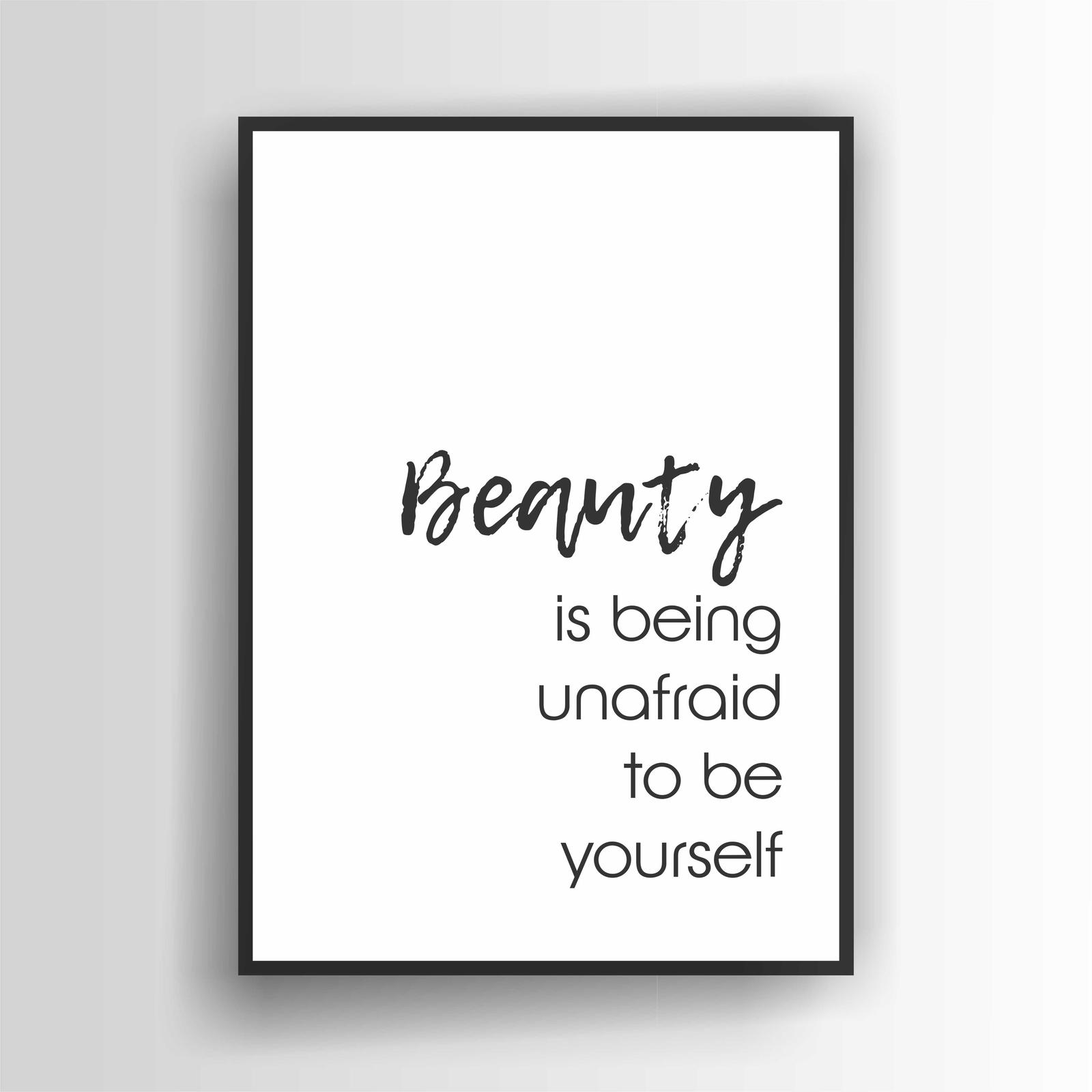 Beauty is...Print