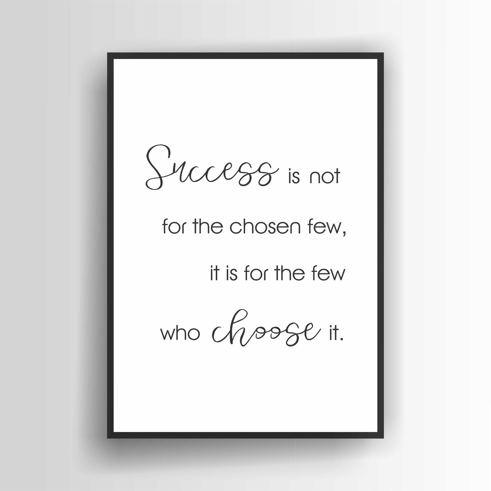 Success Is...Print