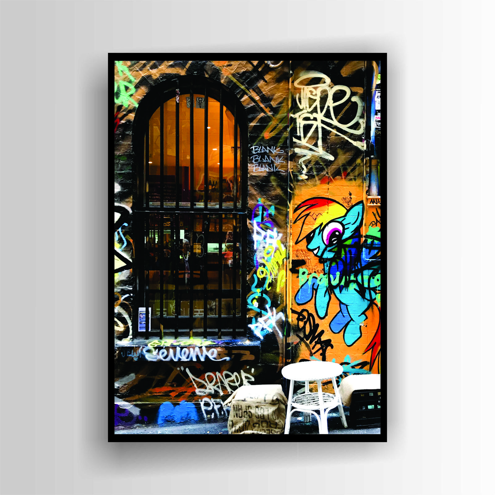 Hosier Lane Print