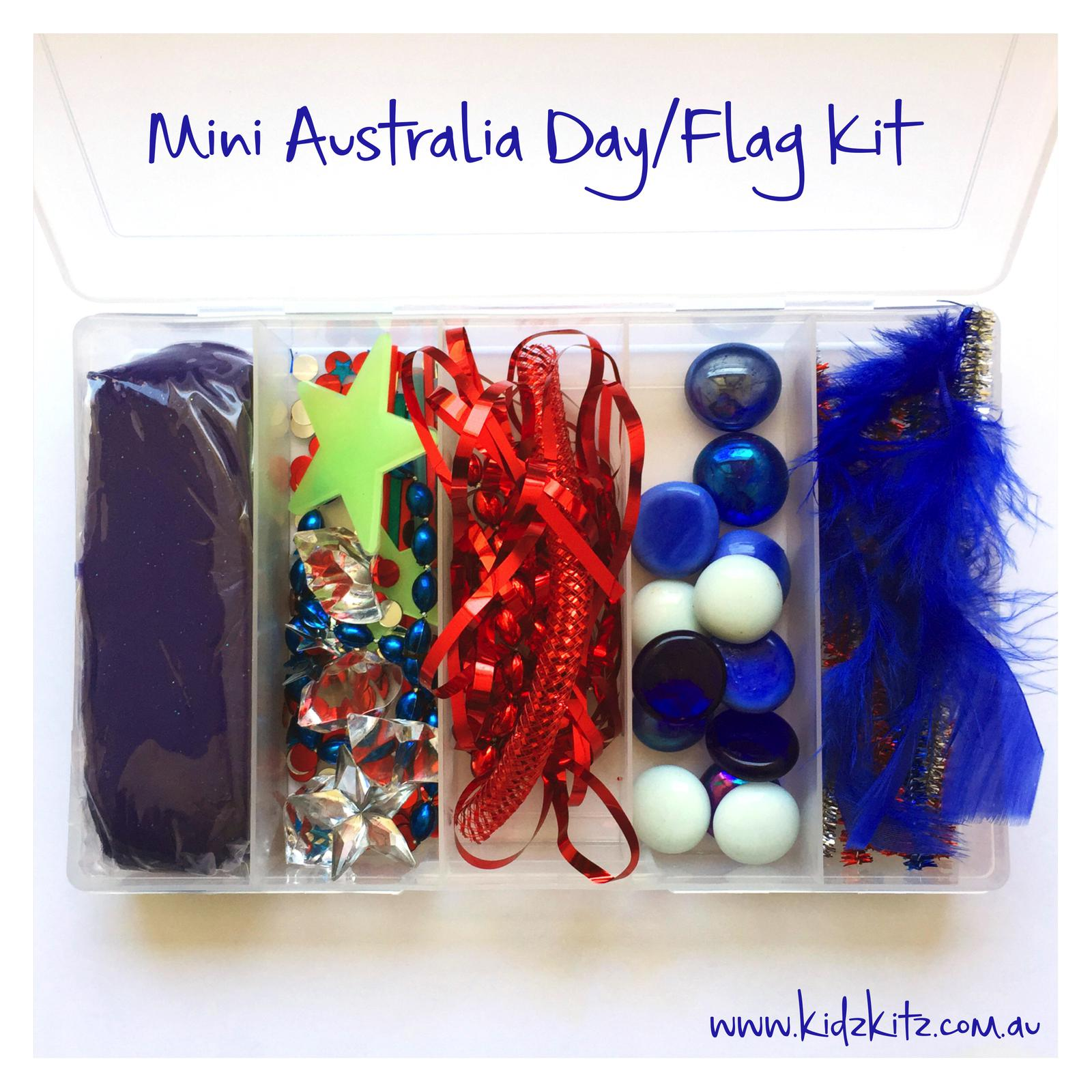 Mini Australia Day/Flag Kit