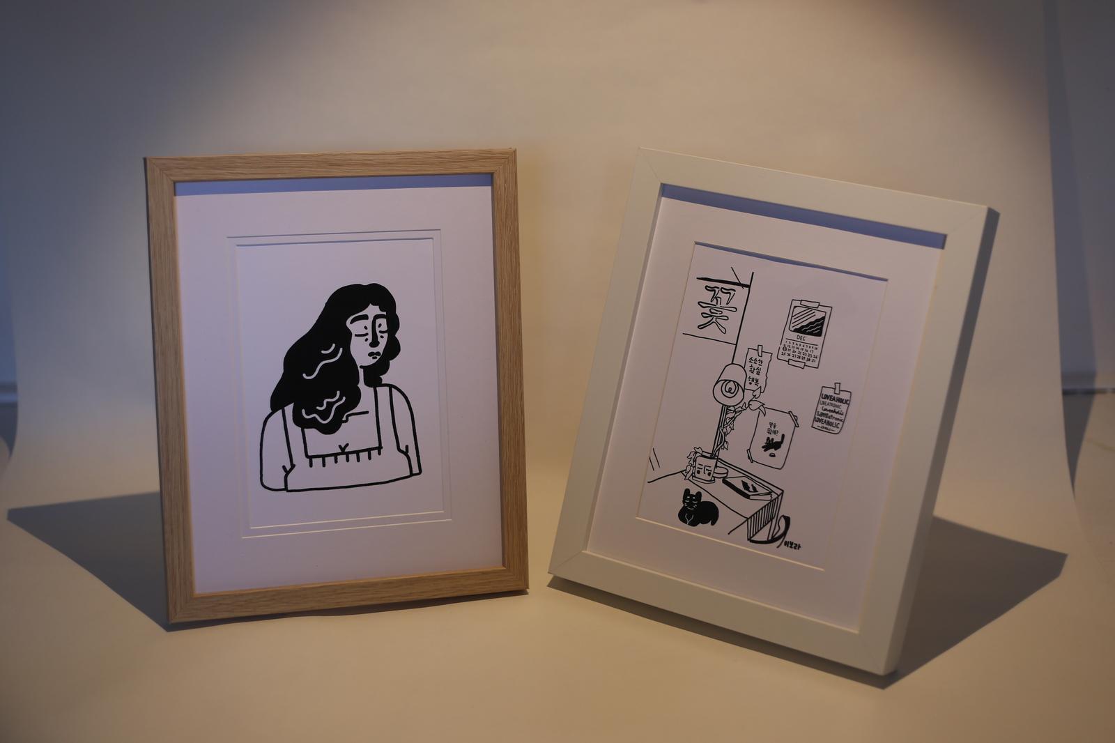 Kikitsa Draws Frames