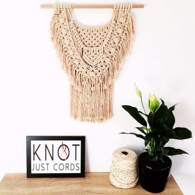 Natural Boho Wall Hanging