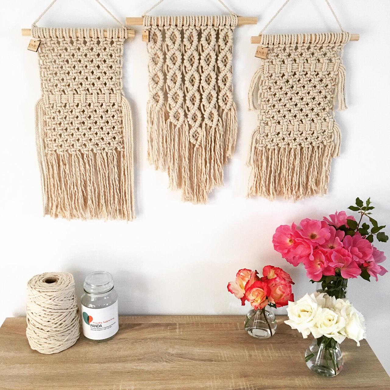 Natural Mini Wall Hangings