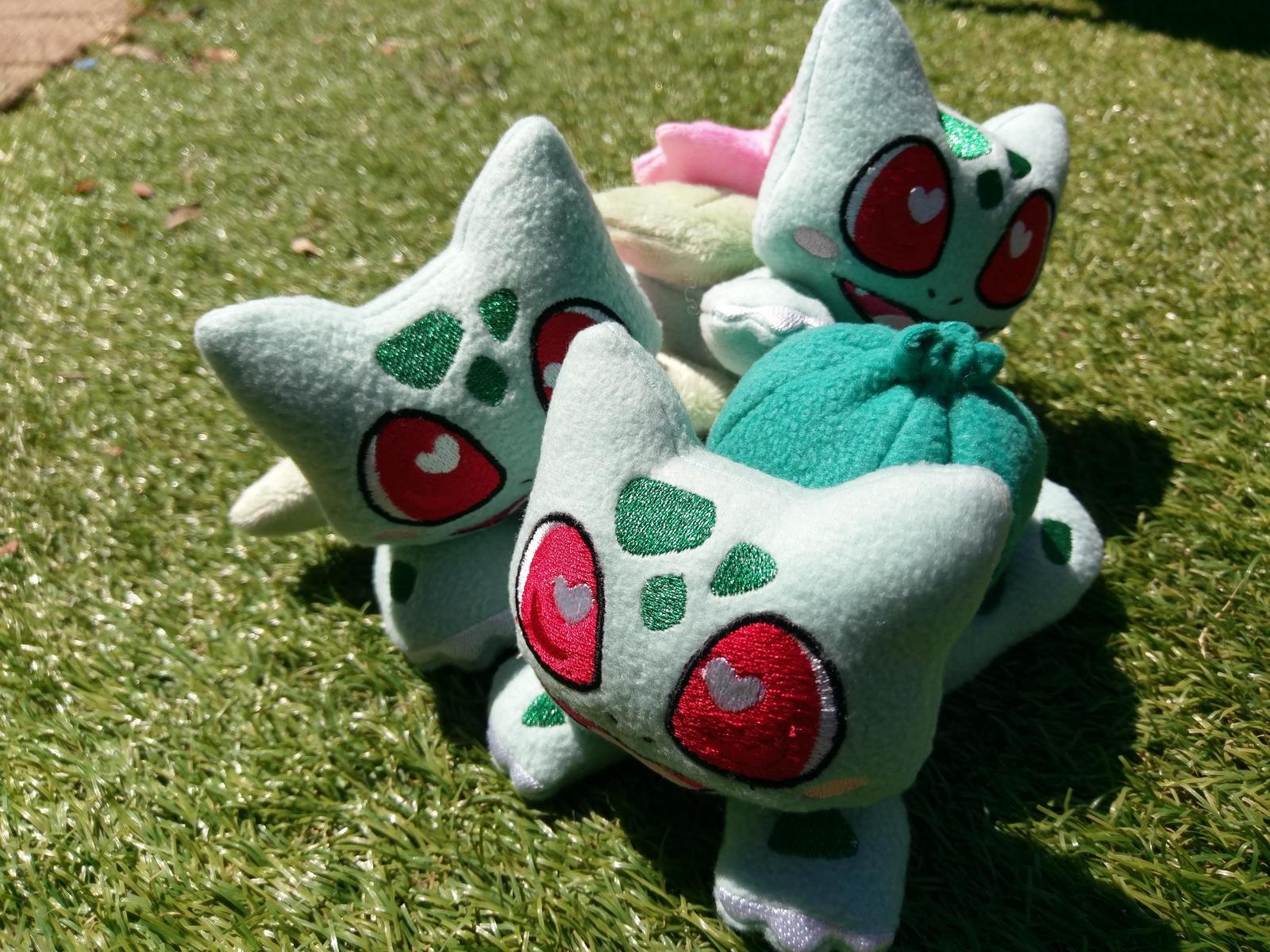 Bulbasaur plushies
