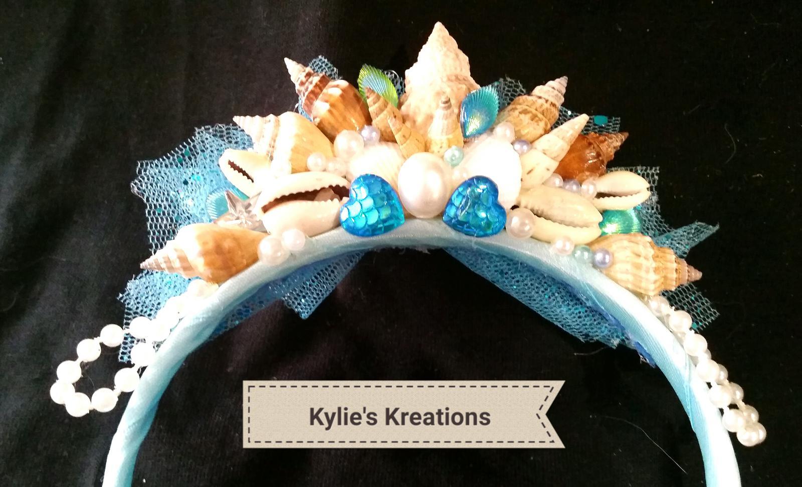Custom mermaid crown