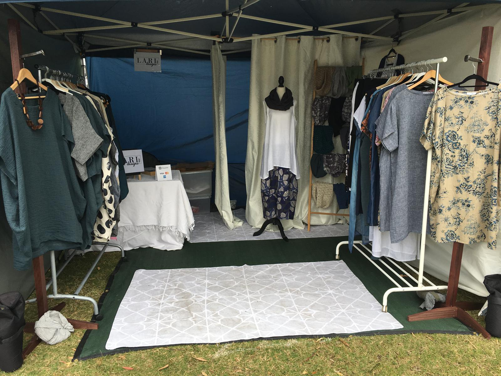 Stall set up