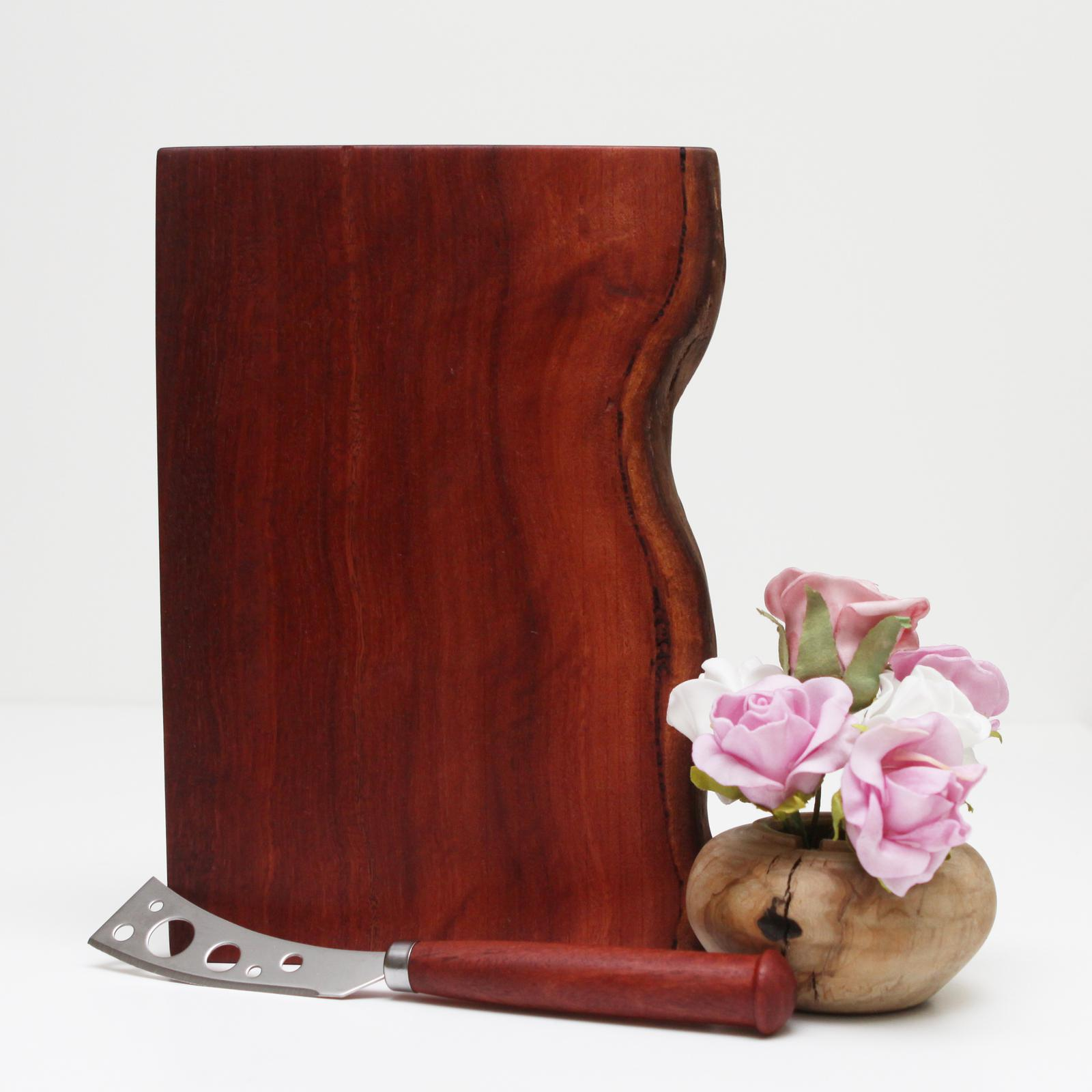 Jarrah Cheese Board & Cheese Knife