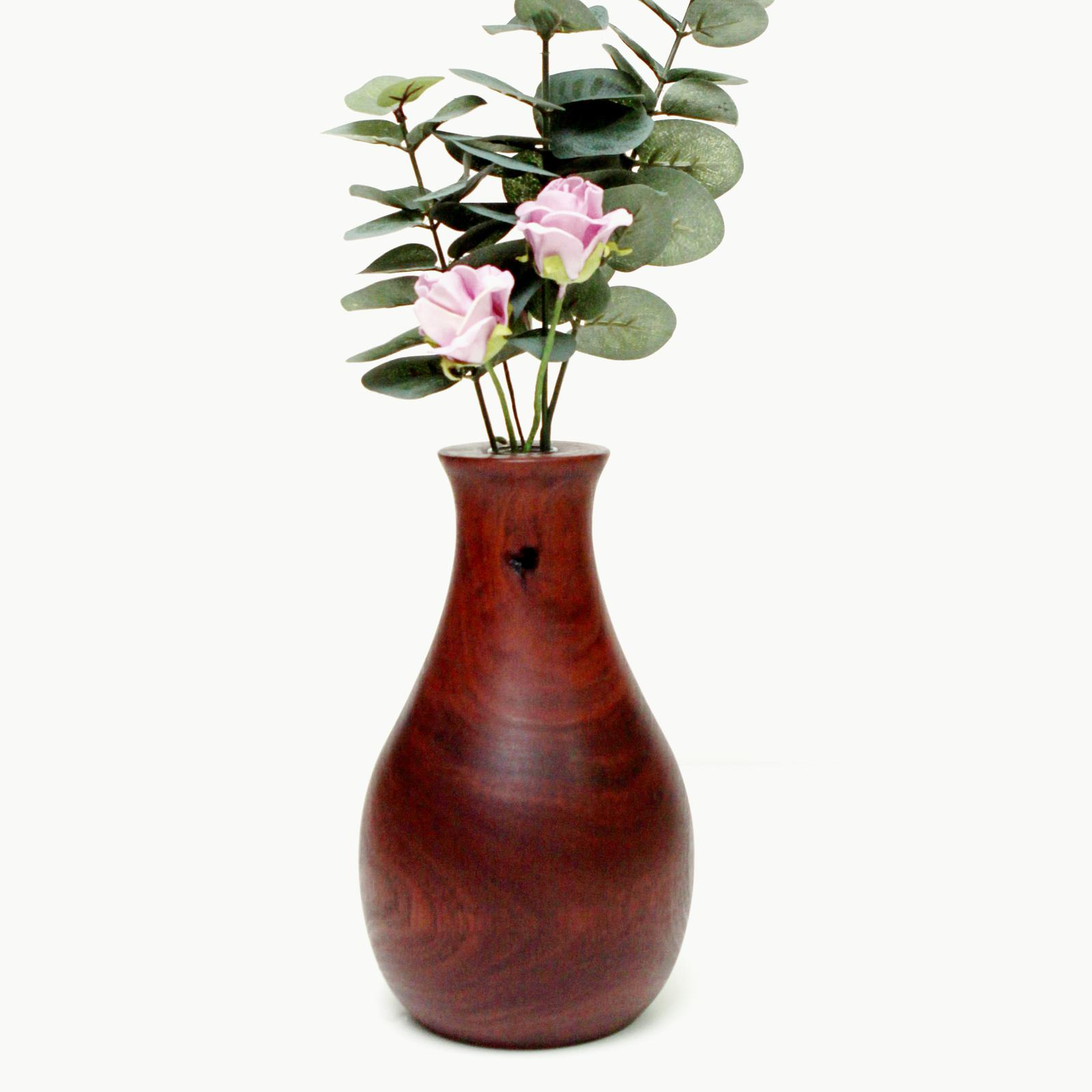 Turned Jarrah Vase