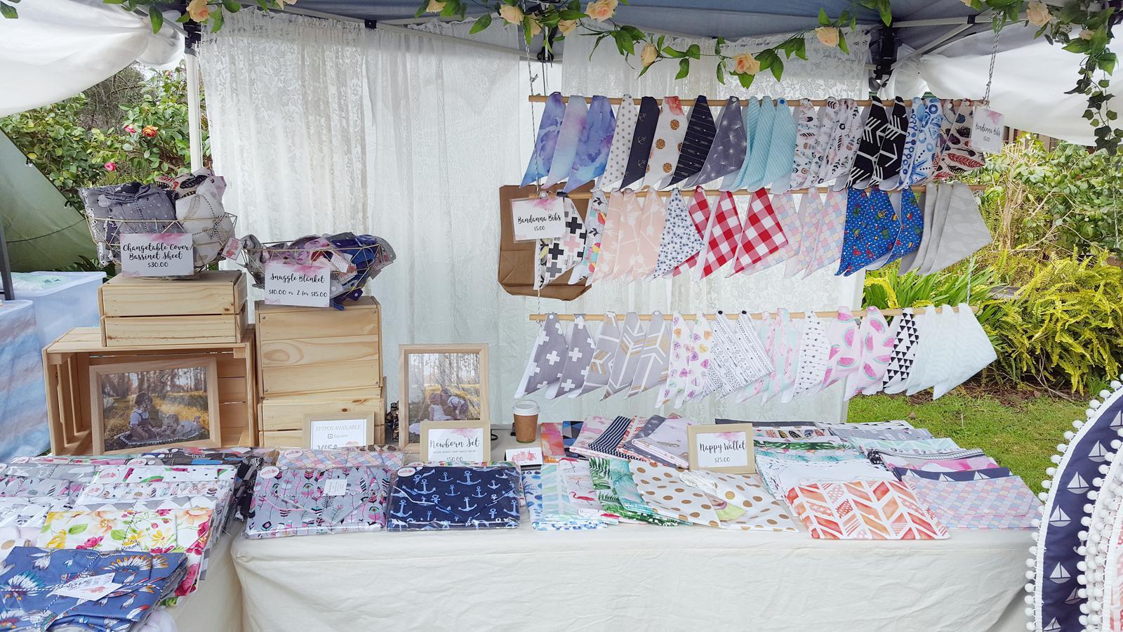 Market Stall Setup 2
