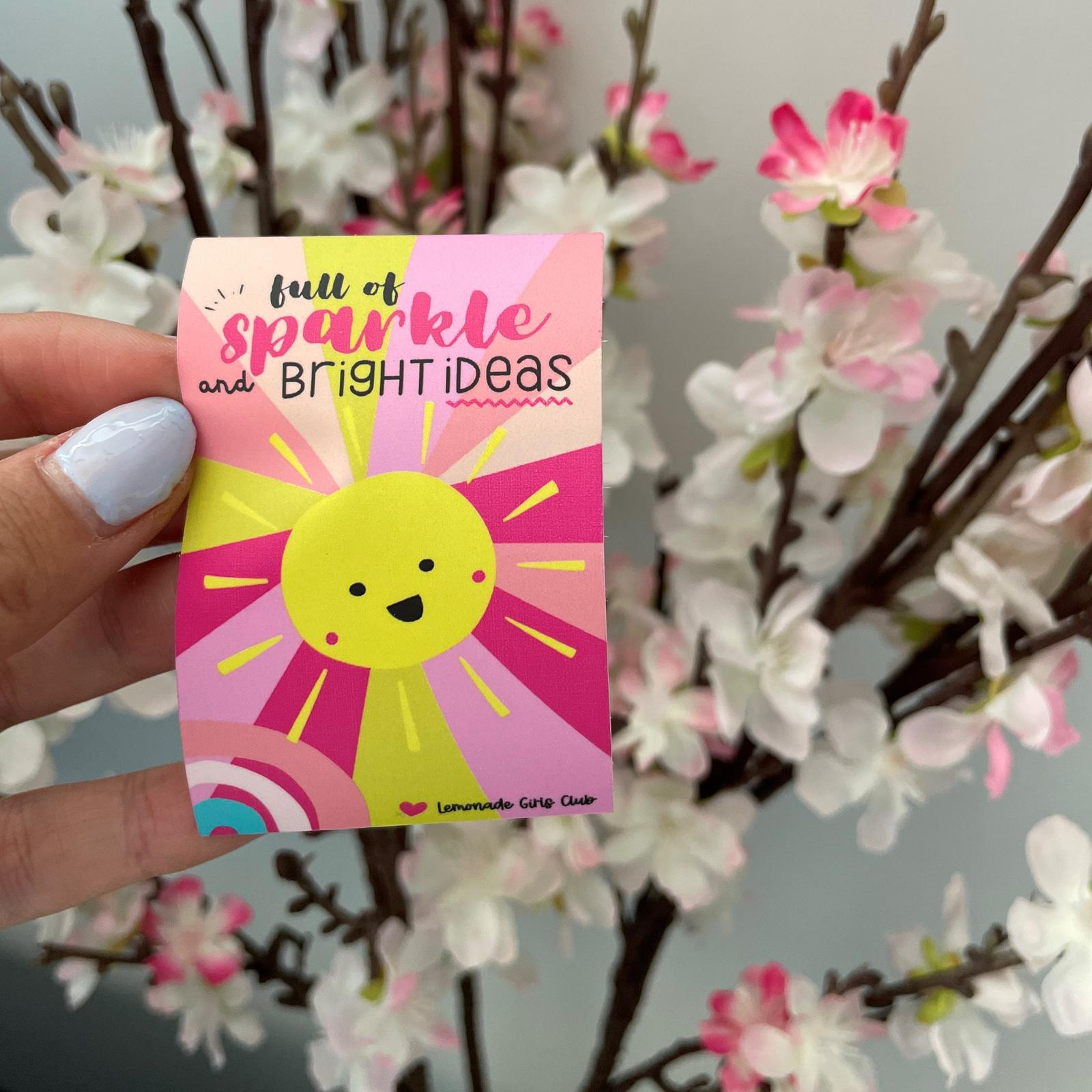 Lemonade Girls Club Sparkle Sticker