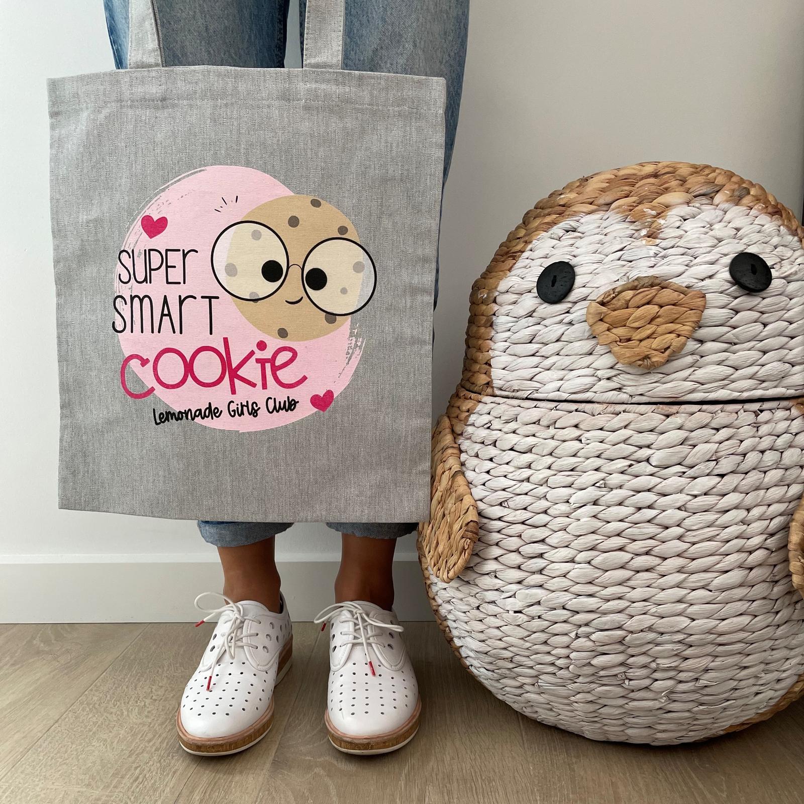 Lemonade Girls Club Smart Cookie Tote Bag