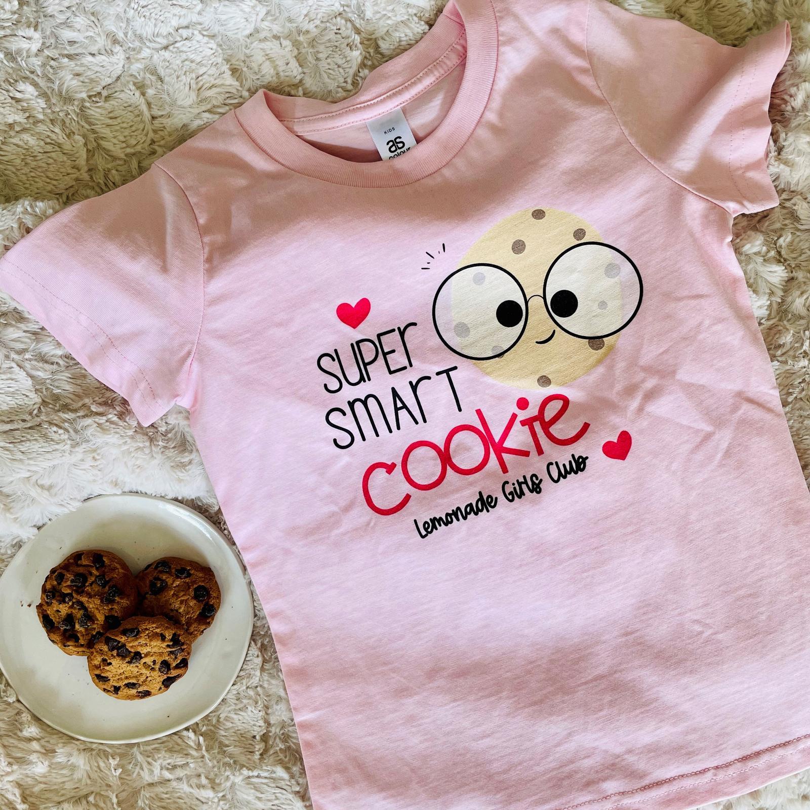 Lemonade Girls Club Smart Cookie Tee