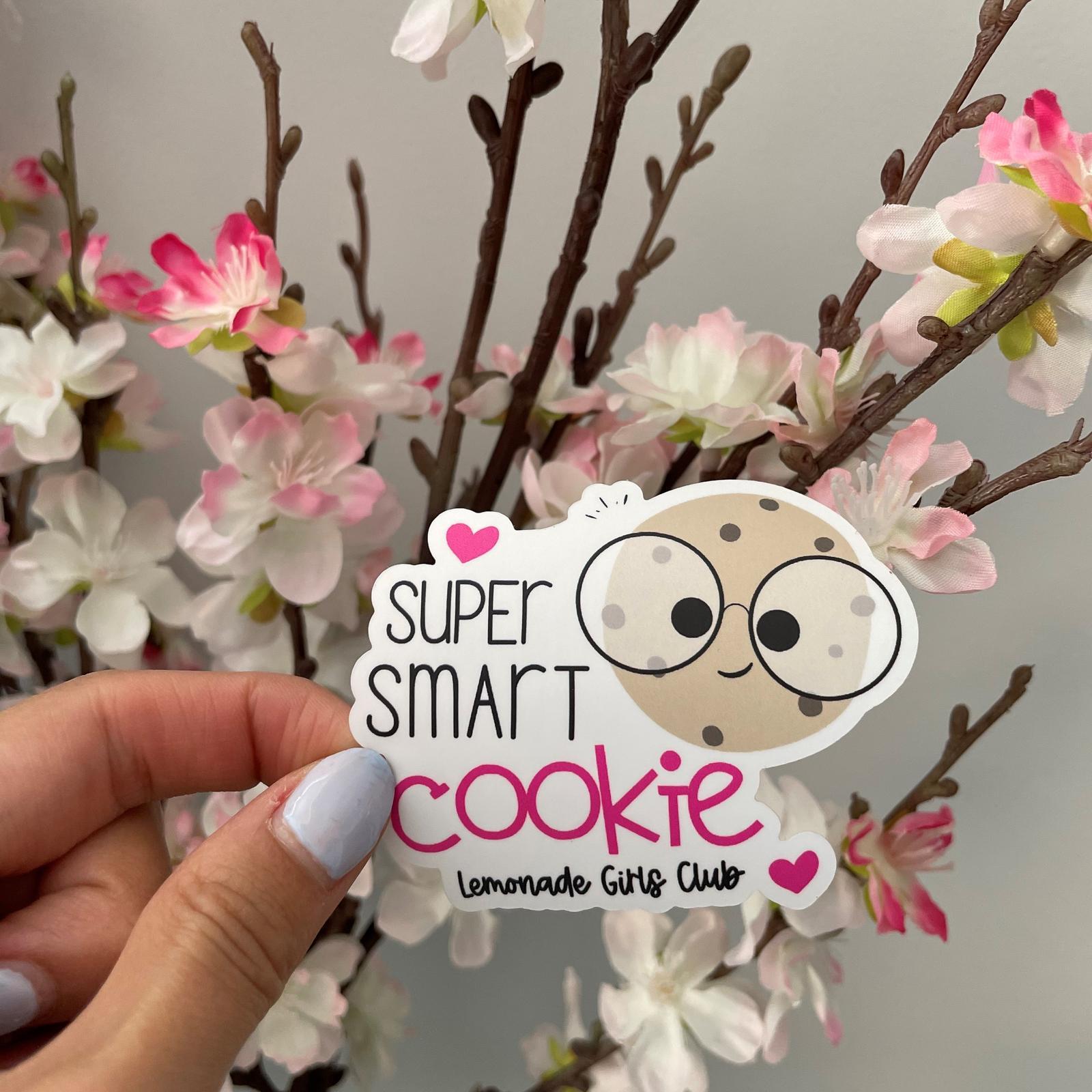 Lemonade Girls Club Smart Cookie Sticker