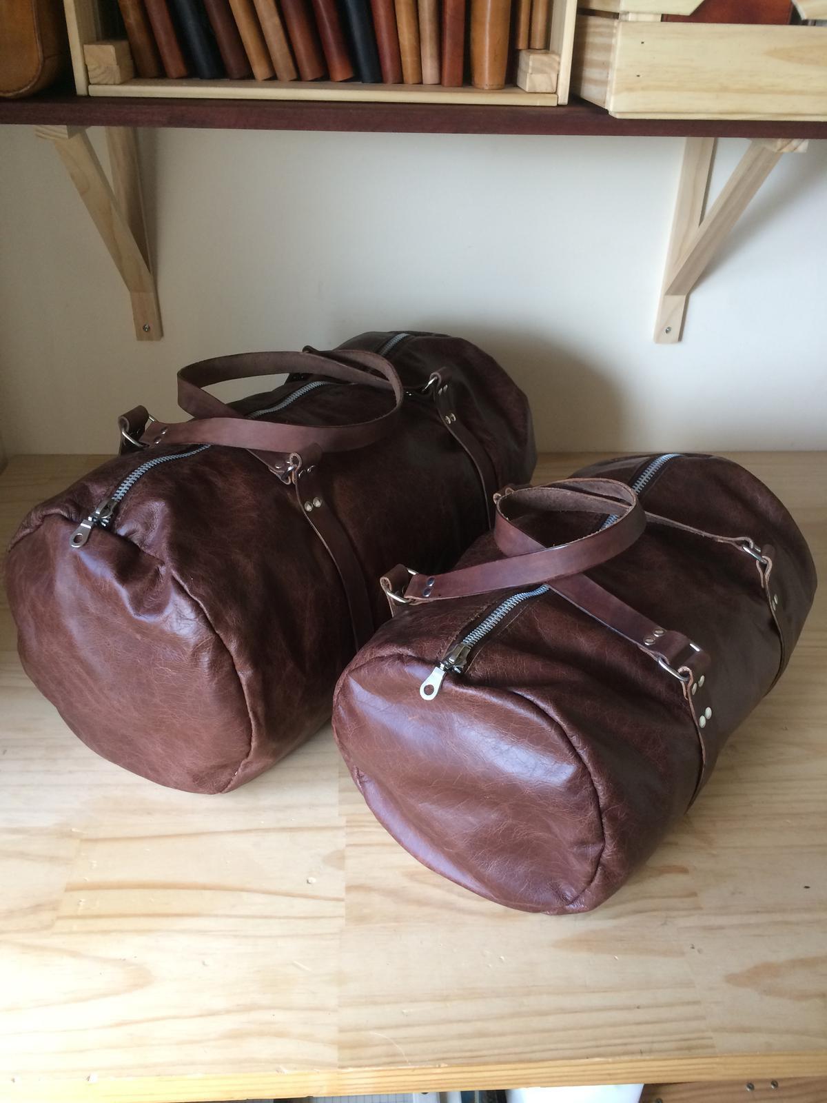 Alexandre - Zippered Duffel Bag