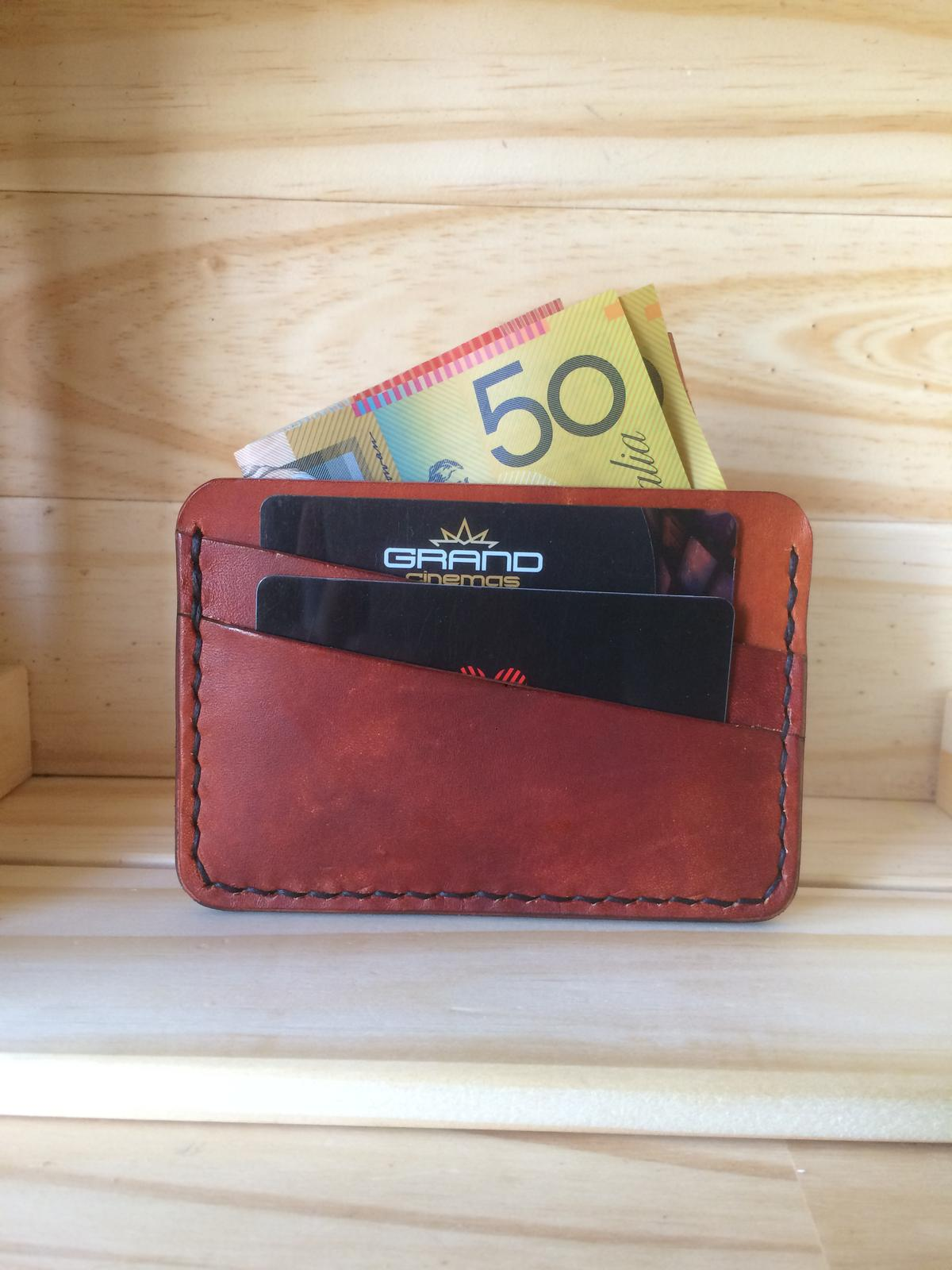 Horizontal Slim Wallet