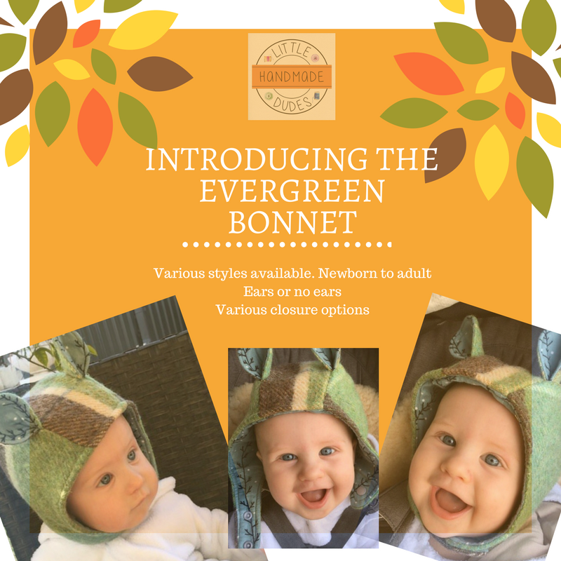 Evergreen bonnets