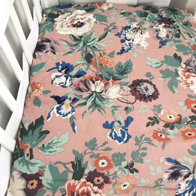 Vintage Rose Fitted Sheet