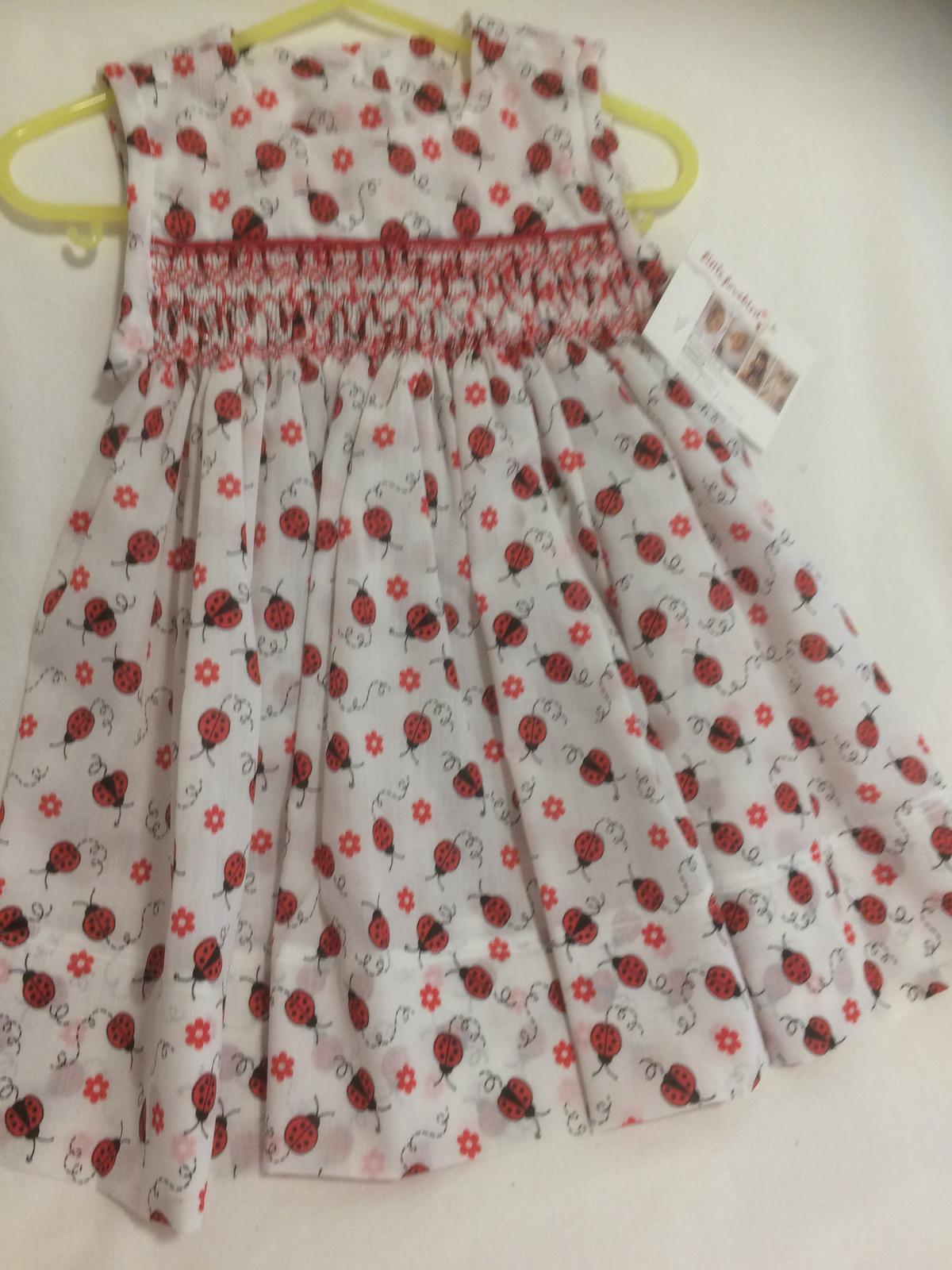 Smocked sundress sizes 000-6 yrs