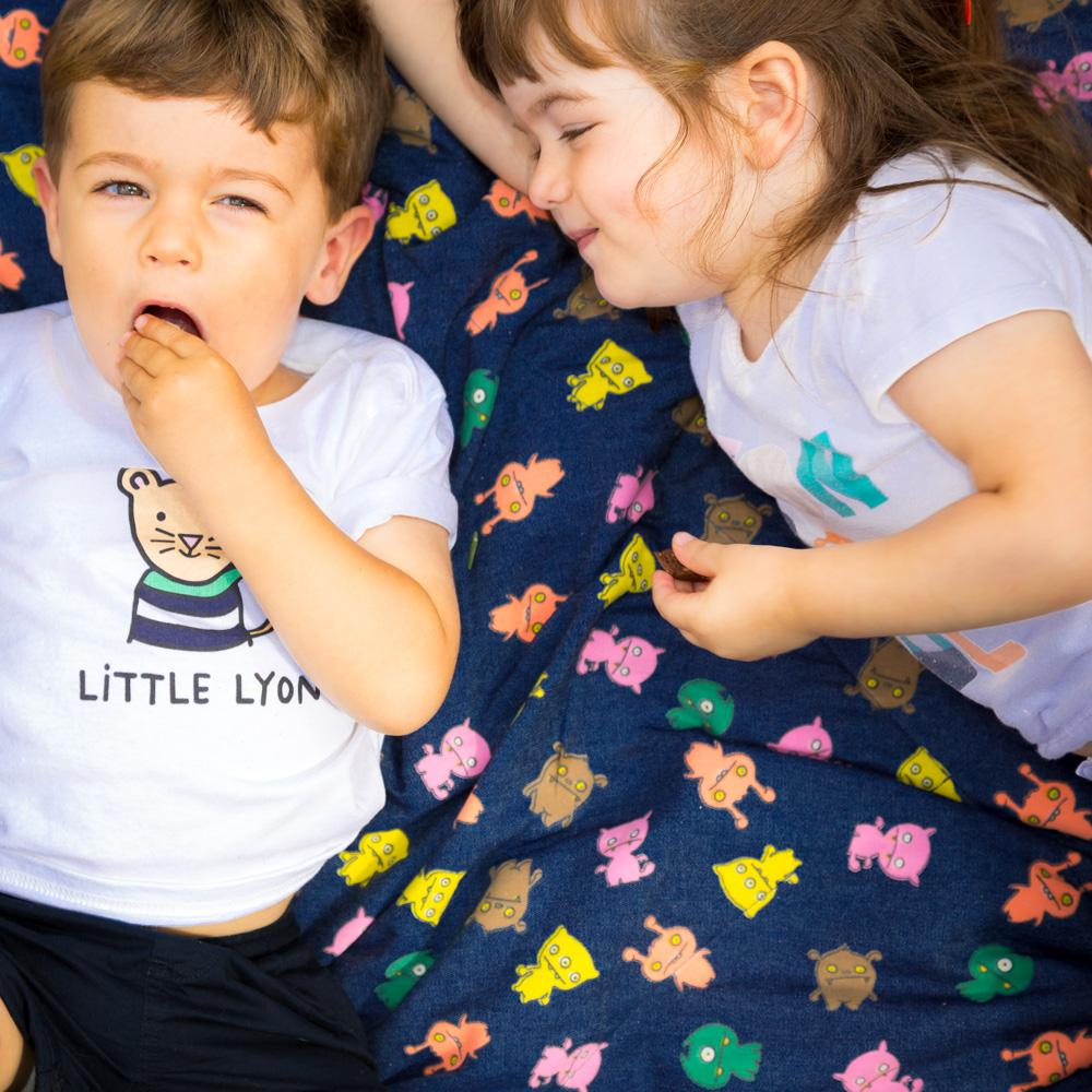 Little Monsters Picnic Blanket