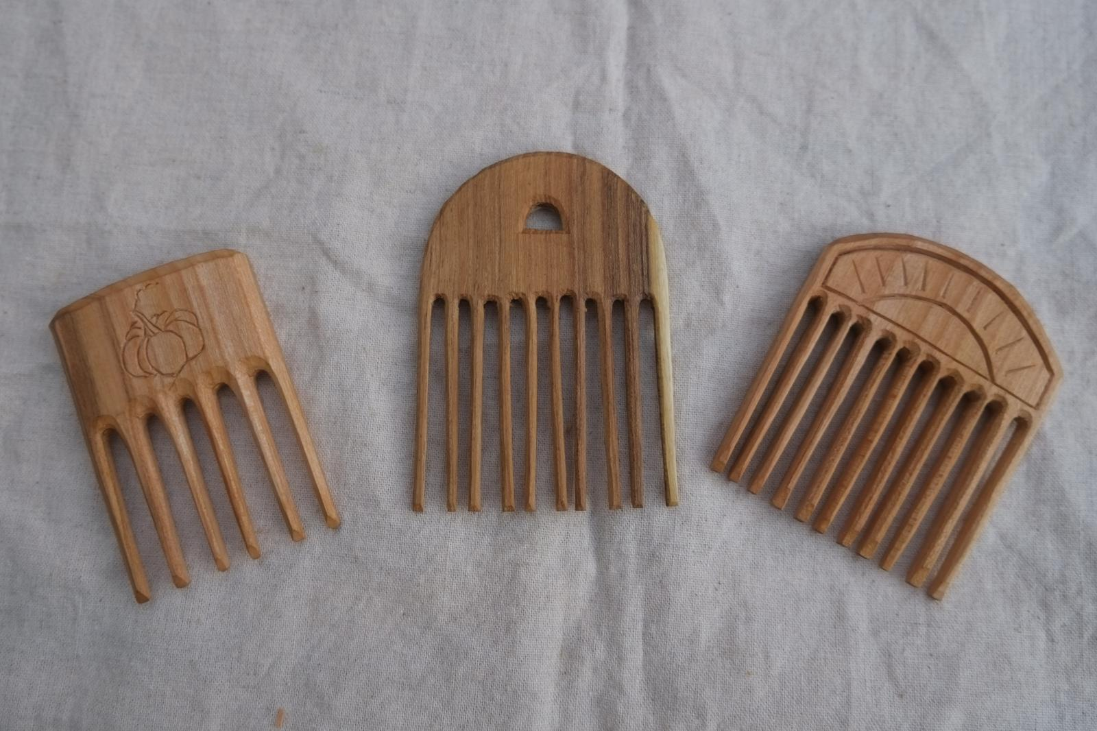 Hand Carved Combs